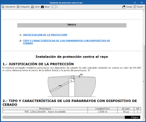 Open BIM Lightning. Instalaciones de protección contra el rayo